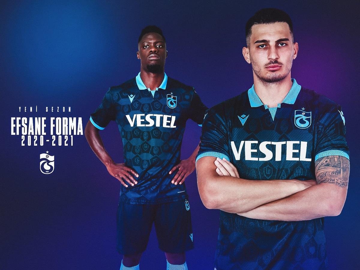 Camisas do Trabzonspor 2020-2021 Macron