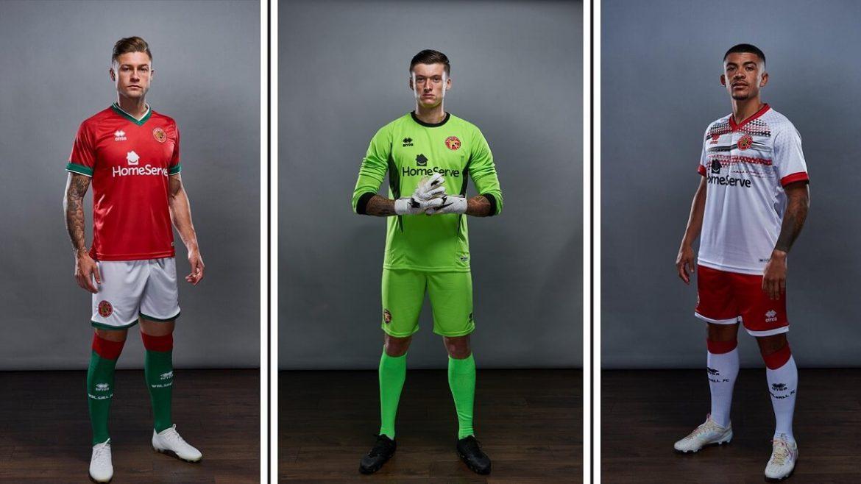 Camisas do Walsall FC 2020-2021 Erreà