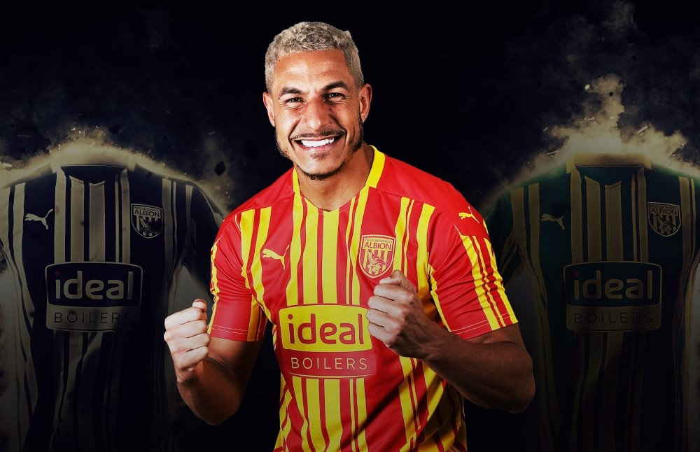Camisas do West Bromwich Albion 2020-2021 PUMA