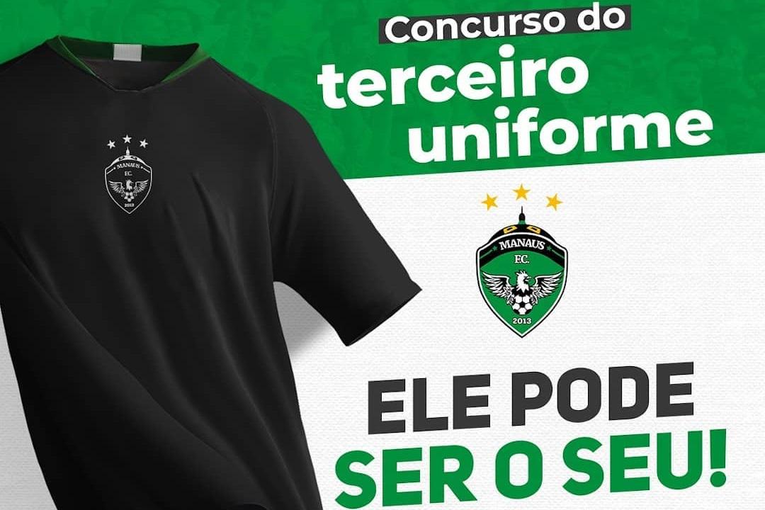 Manaus FC lança concurso para definir terceira camisa