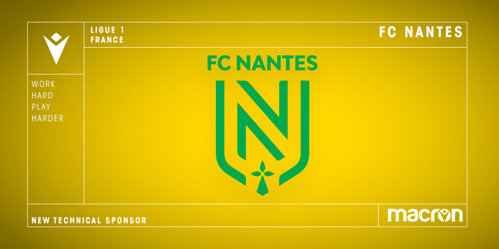 Nantes vestirá Macron na temporada 2020-2021