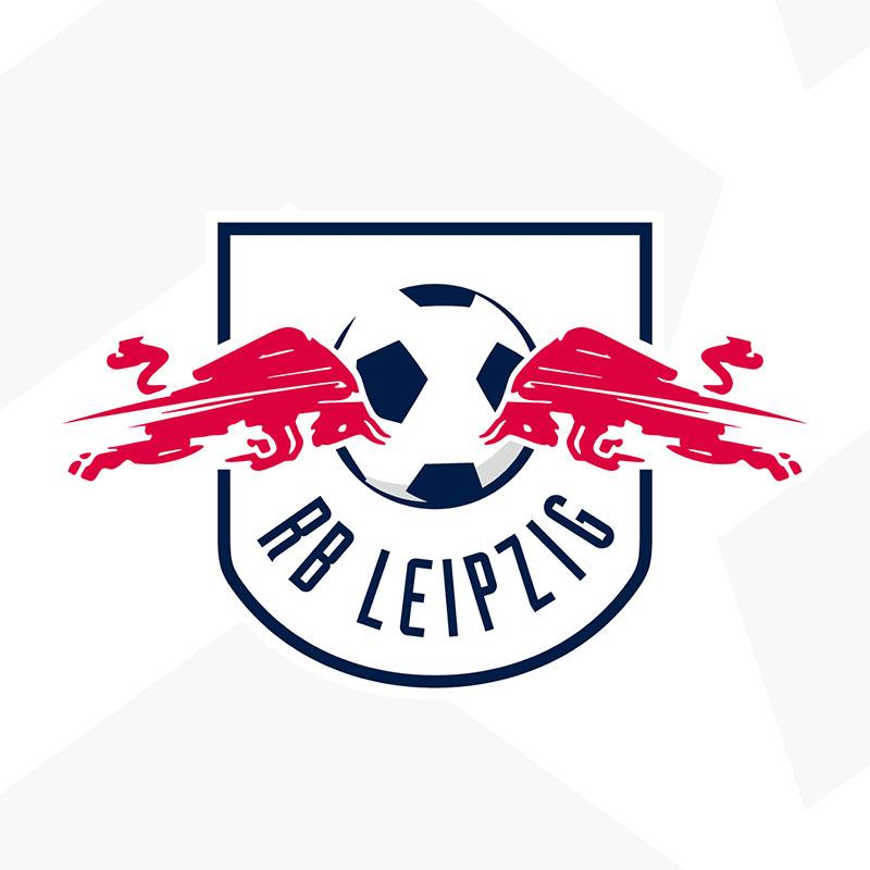 RB Leipzig novo escudo evolução