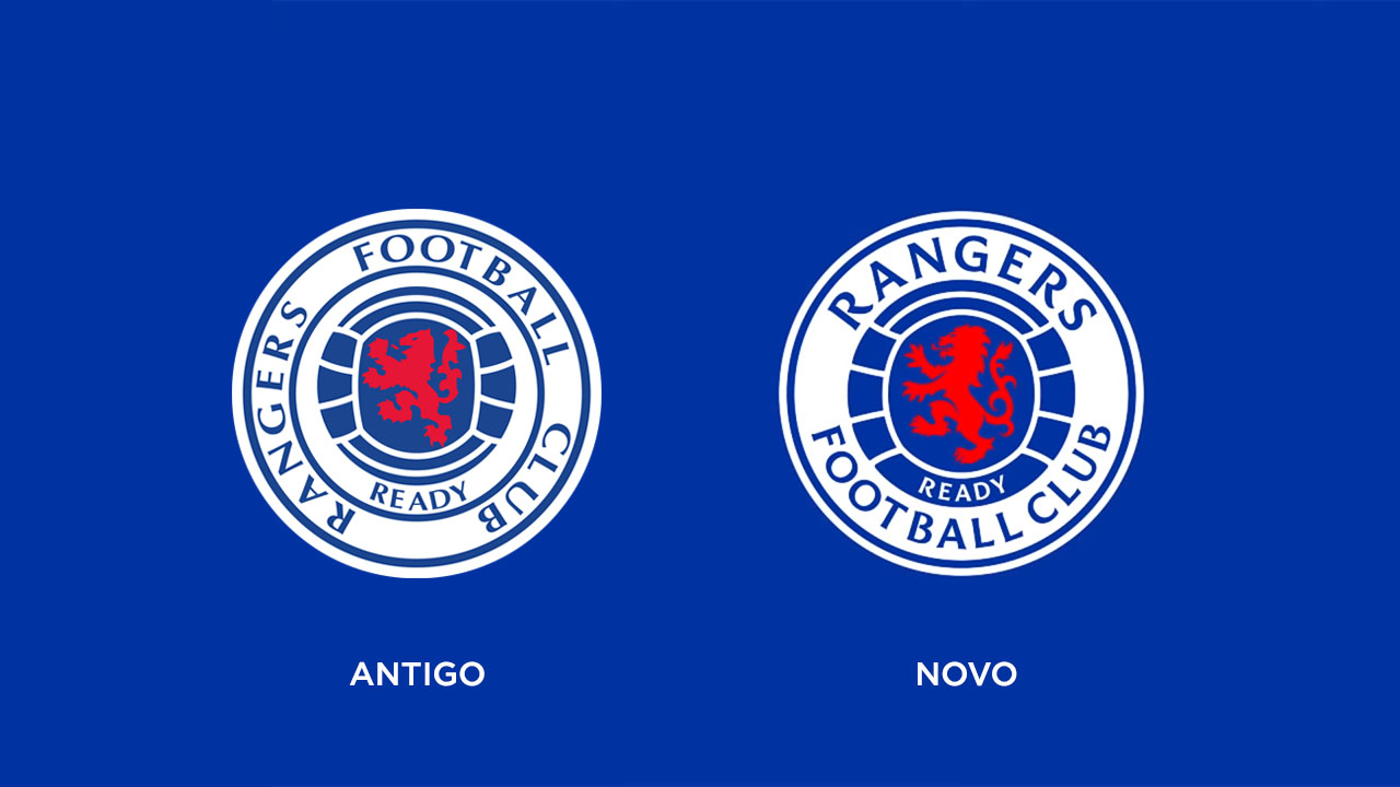 Rangers FC novo símbolo