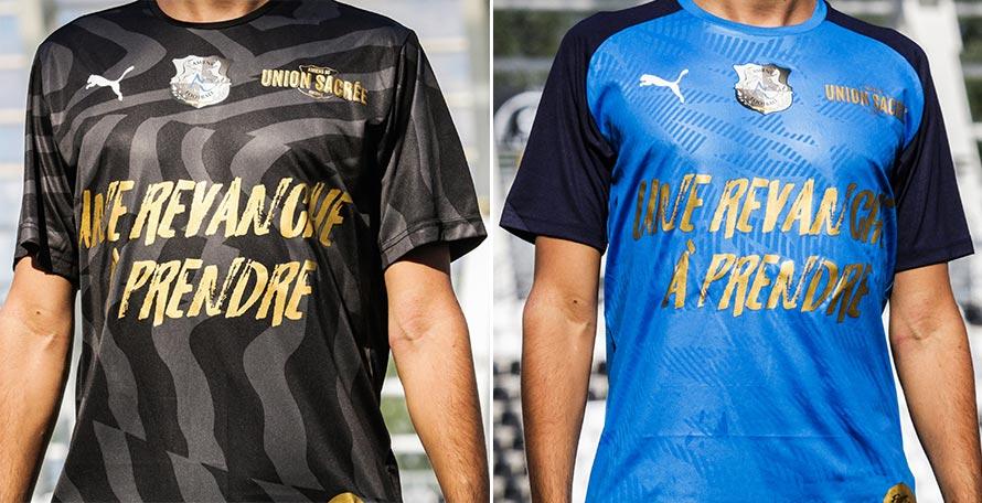 Revenge to Take Camisas especiais do Amiens SC 2020 PUMA