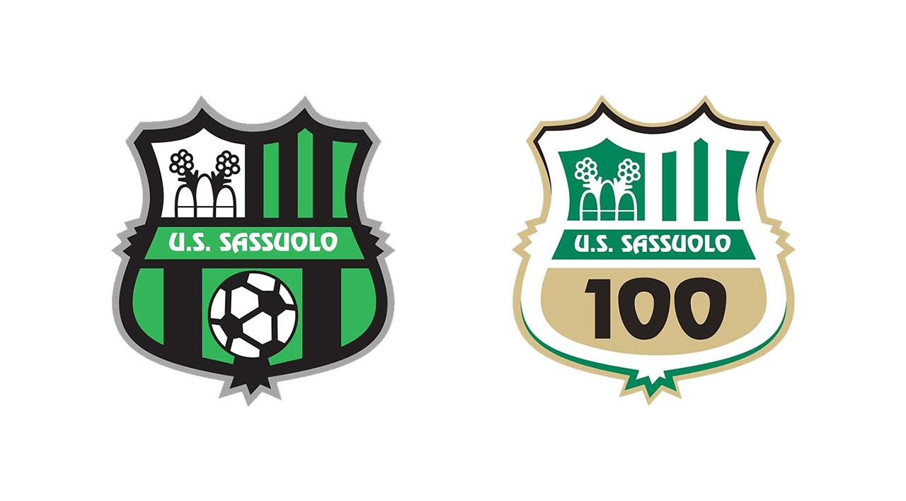 Sassuolo escudo logo 100 anos