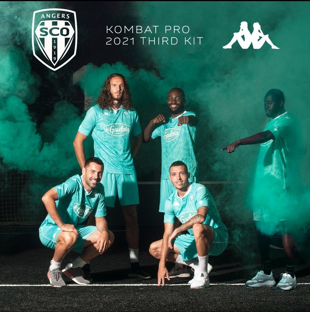 Terceira camisa do Angers SCO 2020-2021 Kappa