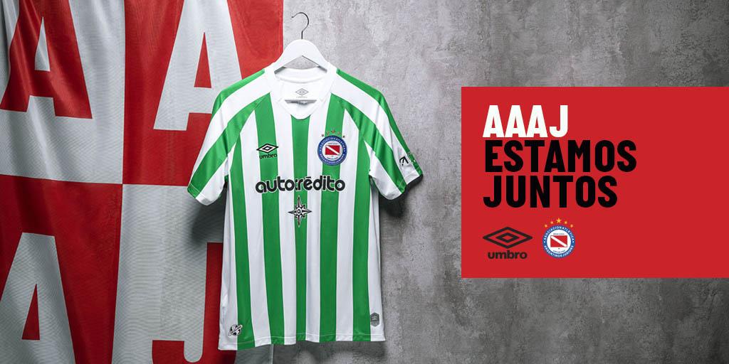 Terceira camisa do Argentinos Juniors 2020-2021 Umbro a