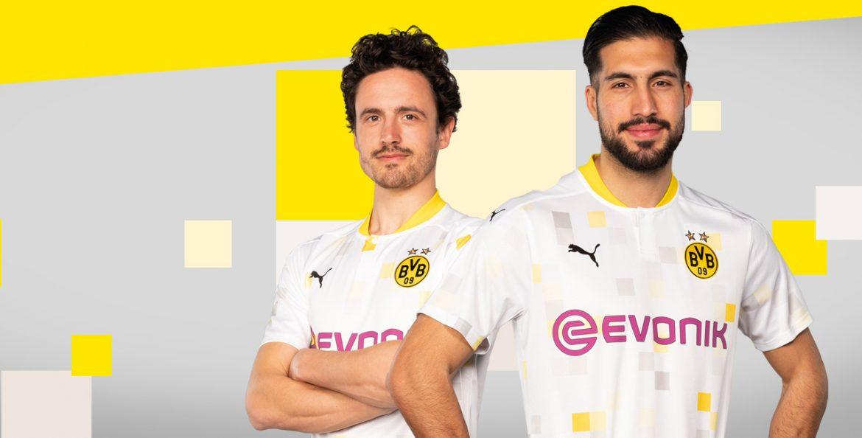Terceira camisa do Borussia Dortmund 2020-2021 PUMA Copas