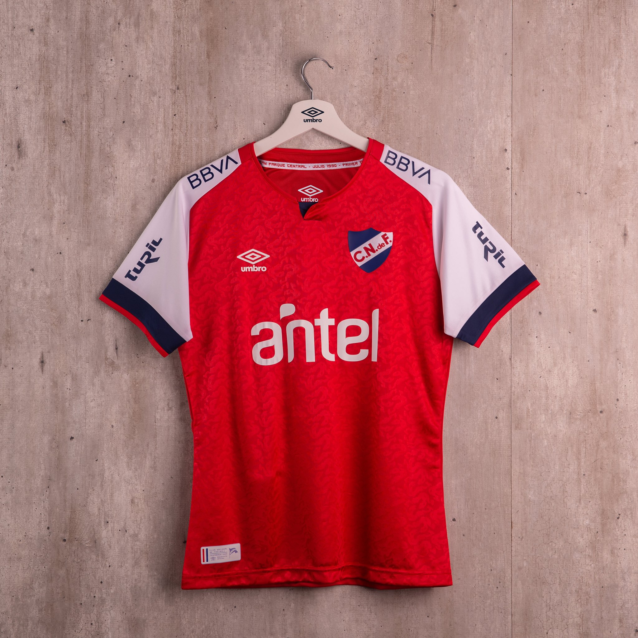 Terceira camisa do Club Nacional 2020-2021 Umbro