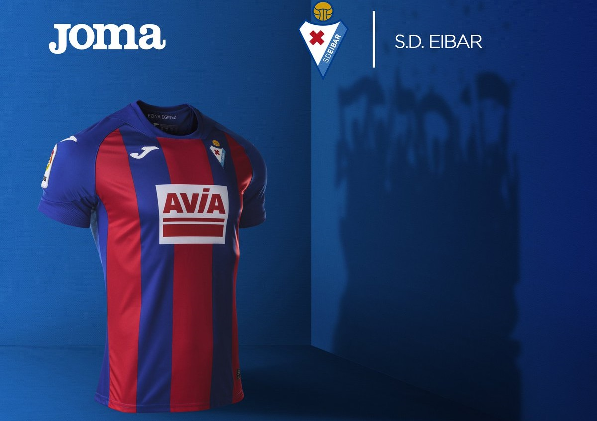 camisas do SD Eibar 2020-2021 JOMA