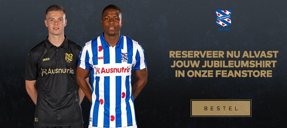 Camisas do SC Heerenveen 2020-2021 JAKO