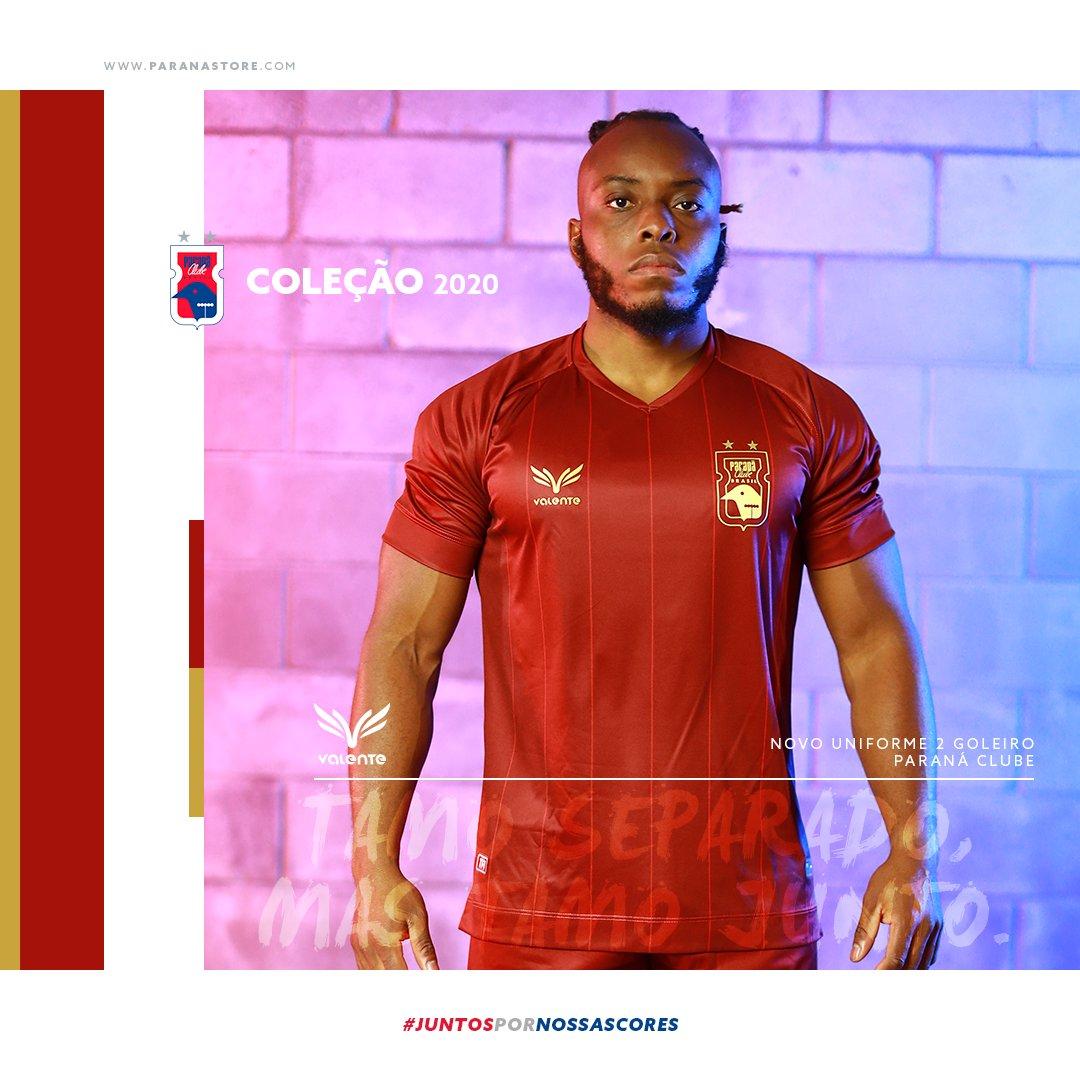 Camisa de goleiro do Paraná Clube 2020-2021 Valente Bordô