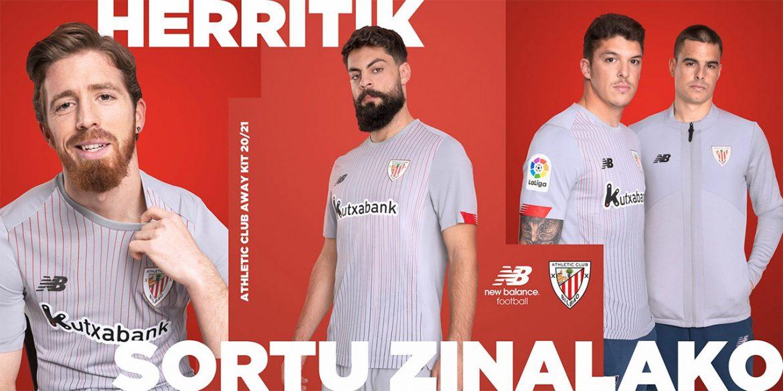 Camisa reserva do Athletic Bilbao 2020-2021 New Balance a