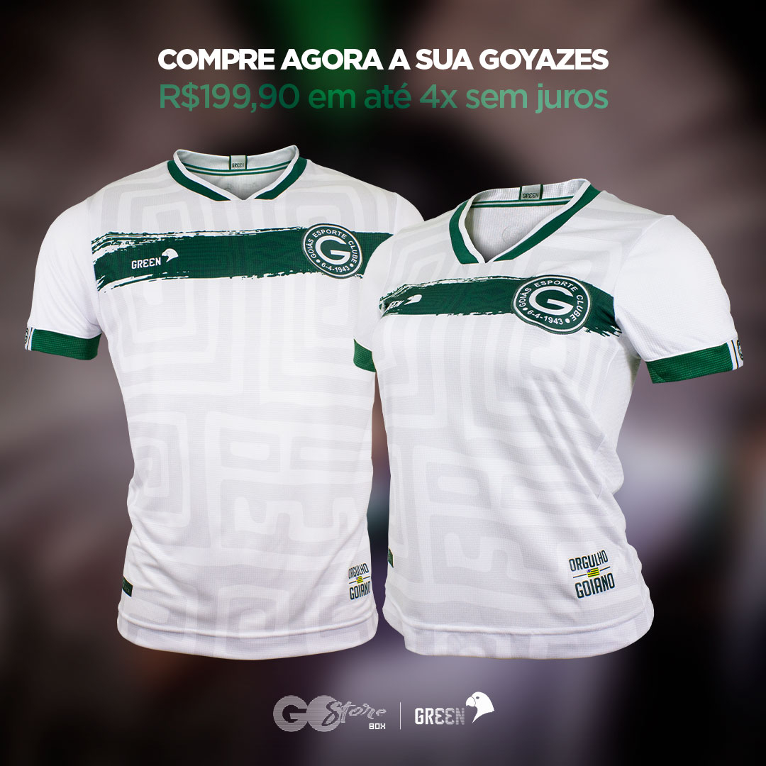 Camisa reserva do Goiás EC 2020-2021 GREEN