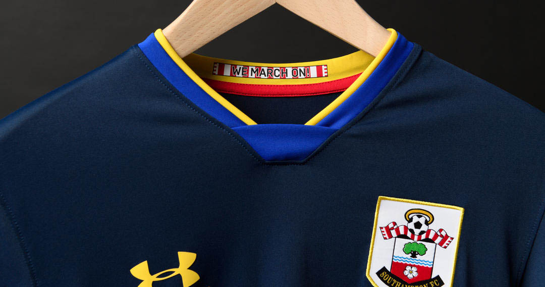 Camisa reserva do Southampton 2020-2021 Under Armour a