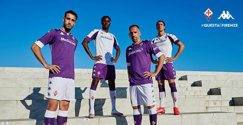 Camisas da Fiorentina 2020-2021 Kappa