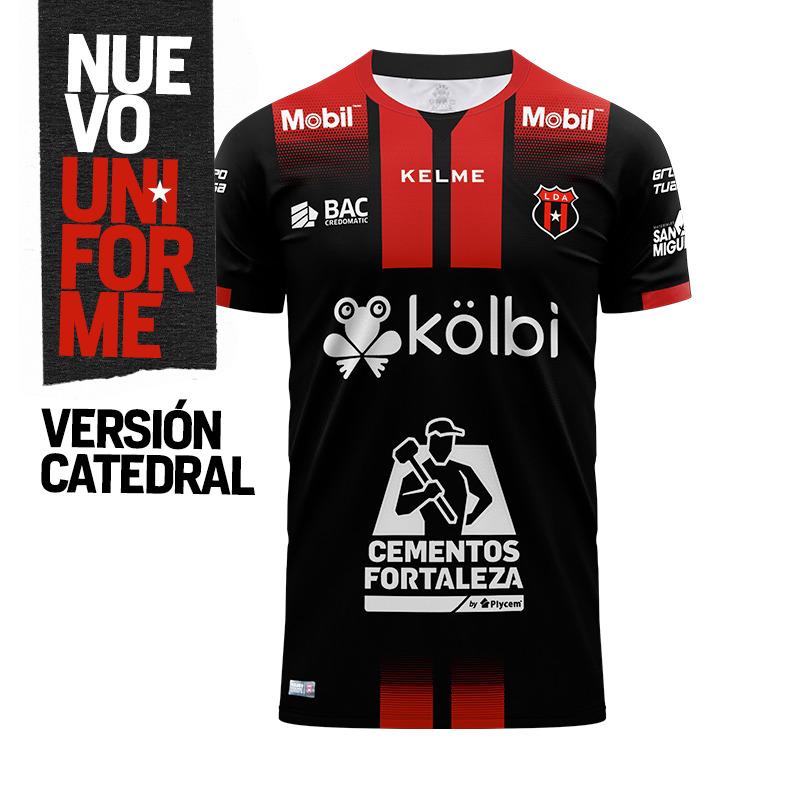 Camisas da LD Alajuelense 2020-2021 Kelme