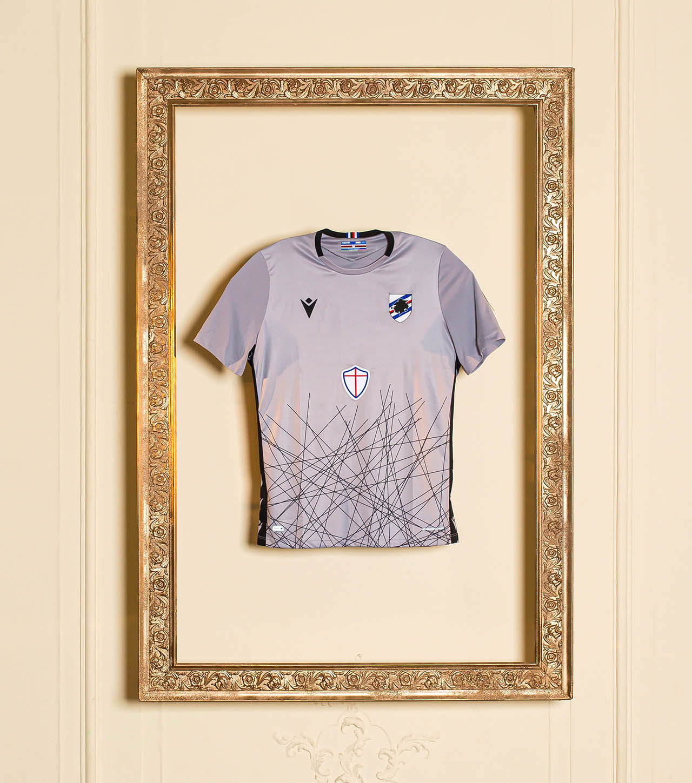 Camisas da Sampdoria 2020-2021 Macron Goleiro