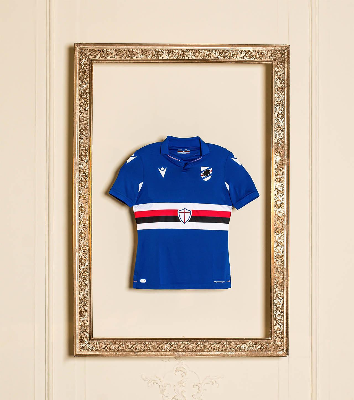 Camisas da Sampdoria 2020-2021 Macron Away