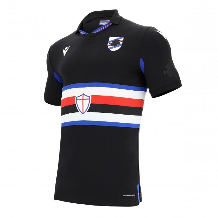 Camisas da Sampdoria 2020-2021 Macron Third