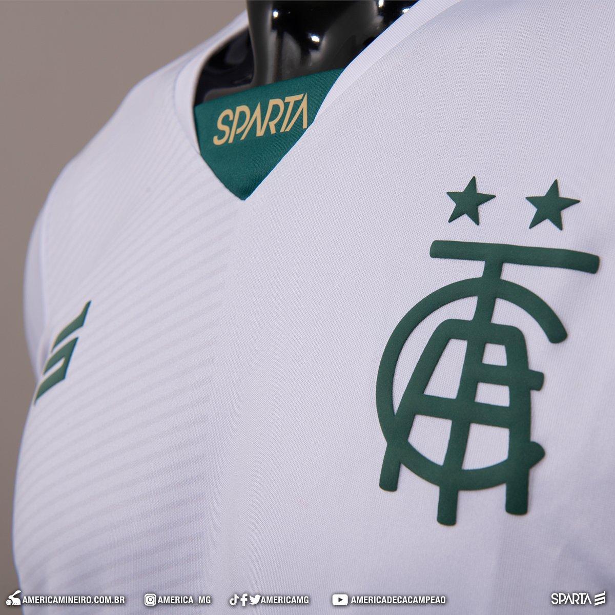 Camisas do América-MG 2020-2021 Sparta Reserva