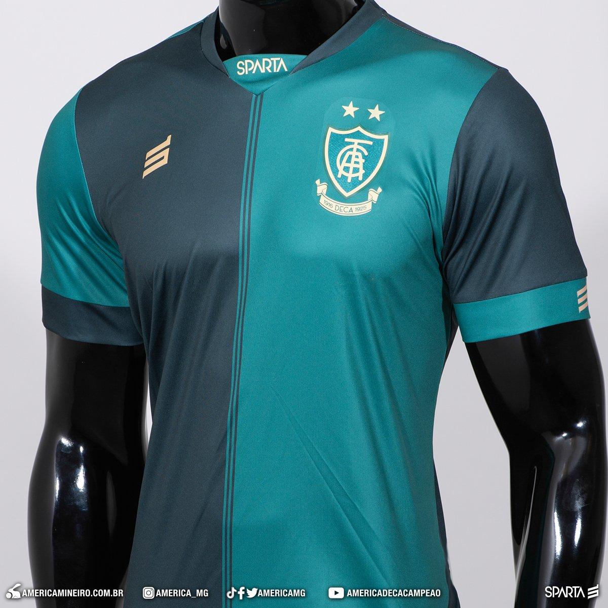 Camisas do América-MG 2020-2021 Sparta abre