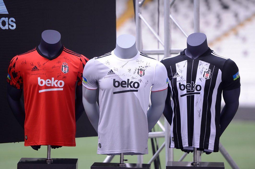 Camisas do Besiktas 2020-2021 Adidas
