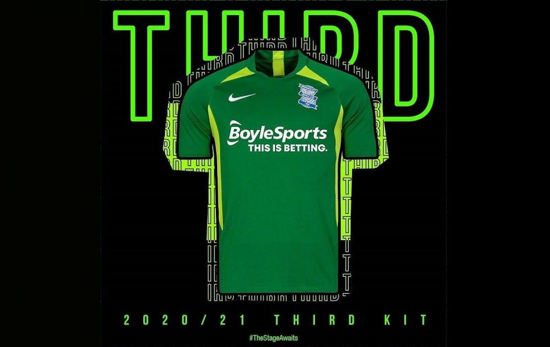 Camisas do Birmingham City 2020-2021 Nike
