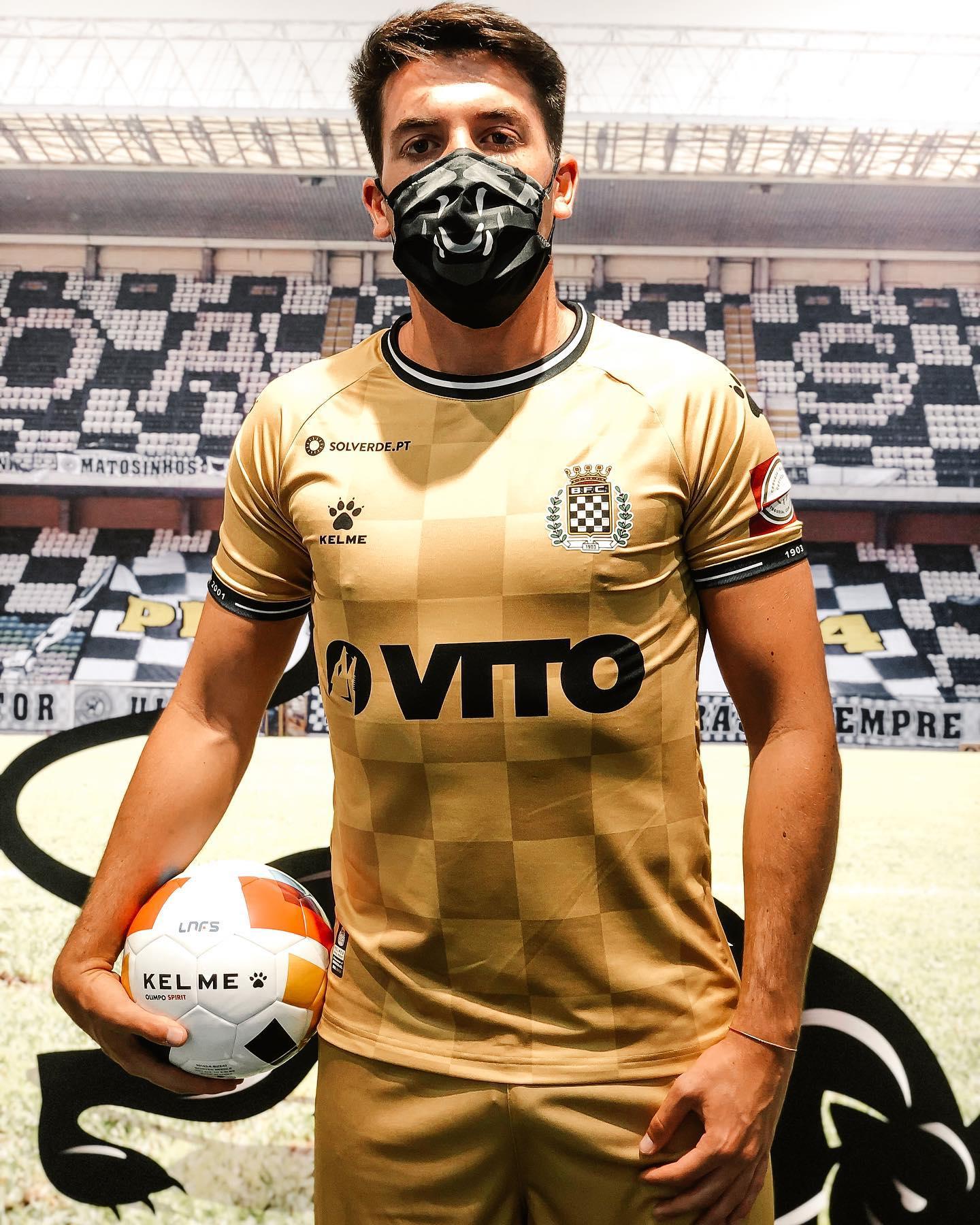 Camisas do Boavista FC 2020-2021 Kelme