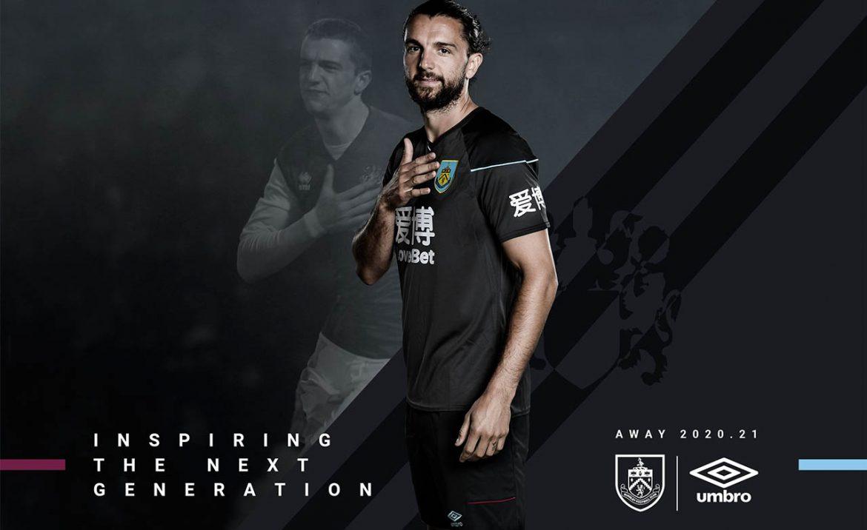 Camisas do Burnley 2020-2021 Umbro Reserva a