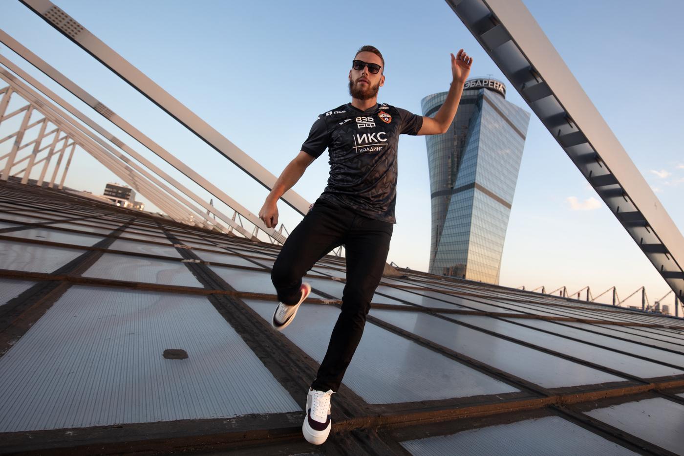 Camisas do CSKA Moscou 2020-2021 JOMA Third