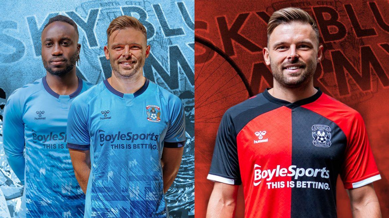 Camisas do Coventry City 2020-2021 Hummel a