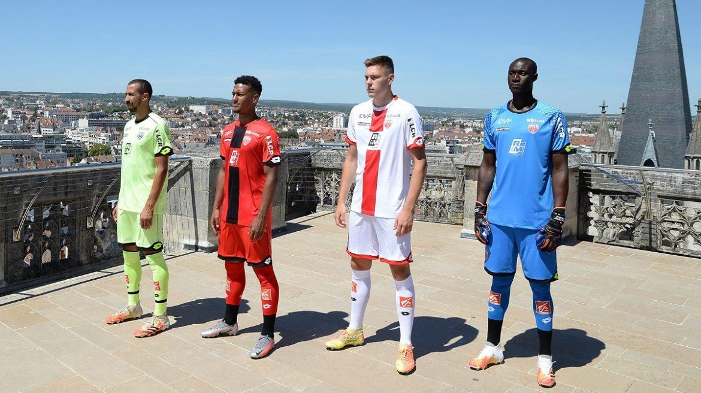 Camisas do Dijon FCO 2020-2021 Lotto