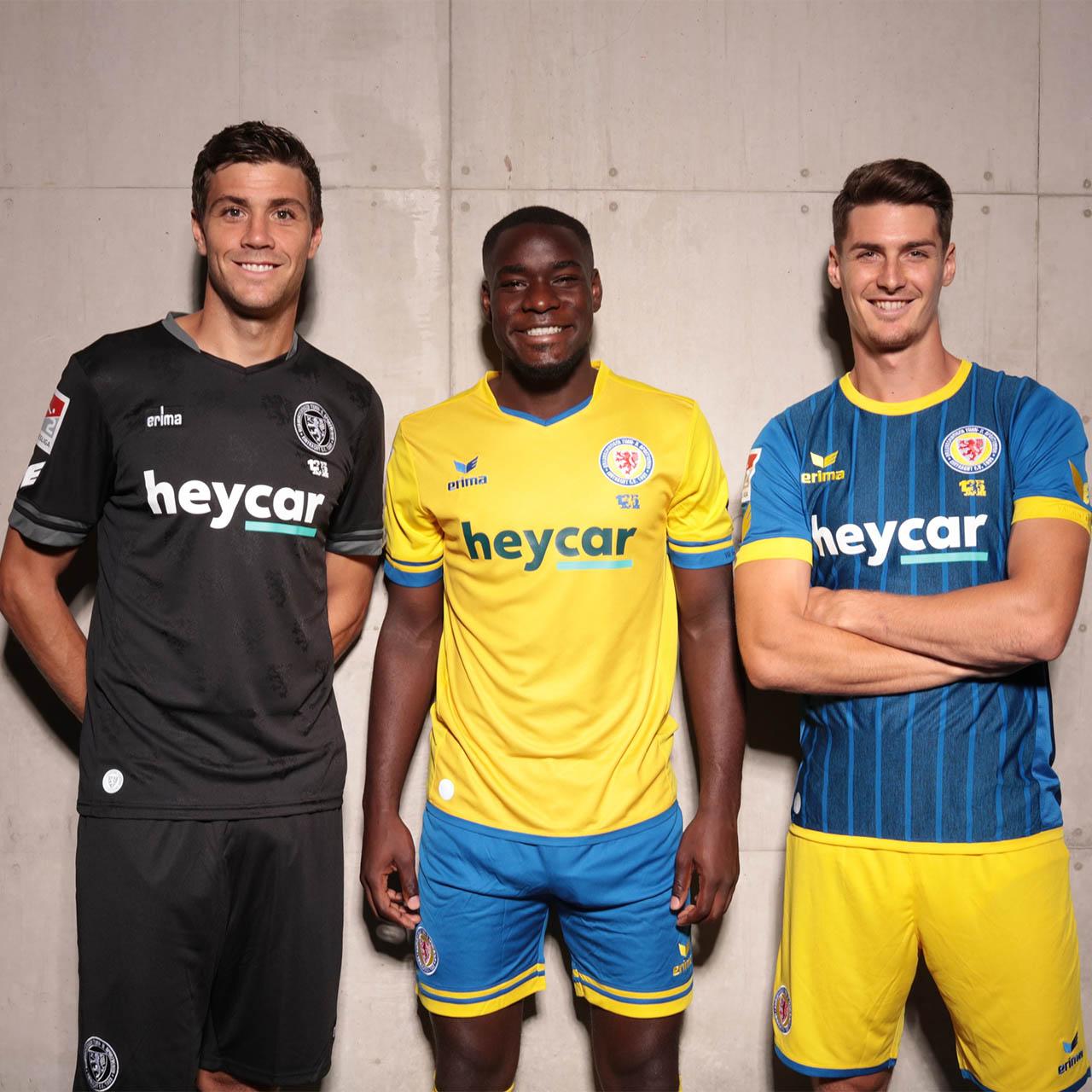 Camisas do Eintracht Braunschweig 2020-2021 Erima b