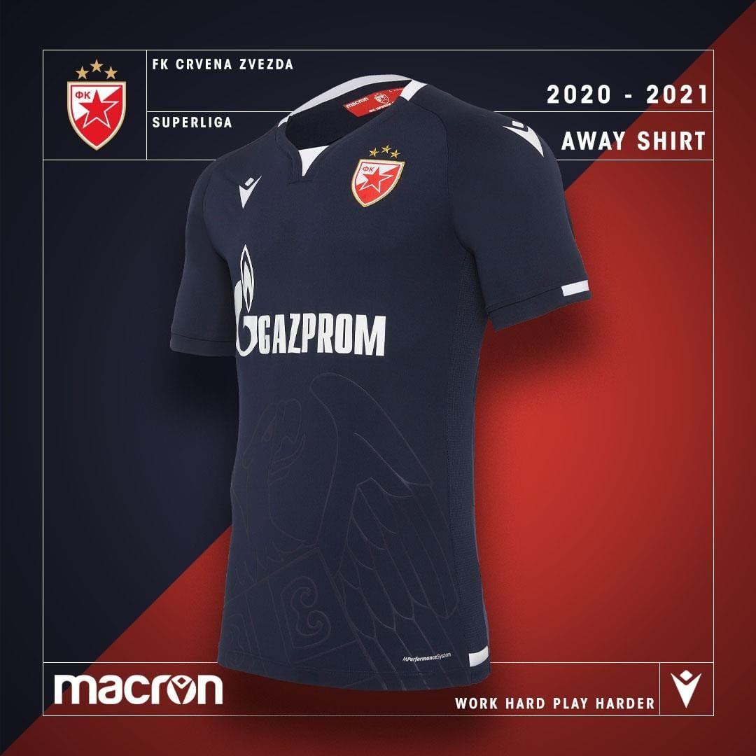 Camisas do Estrela Vermelha 2020-2021 Macron