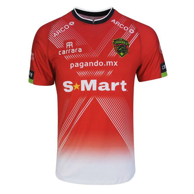 Camisas do FC Juárez 2020-2021 Carrara