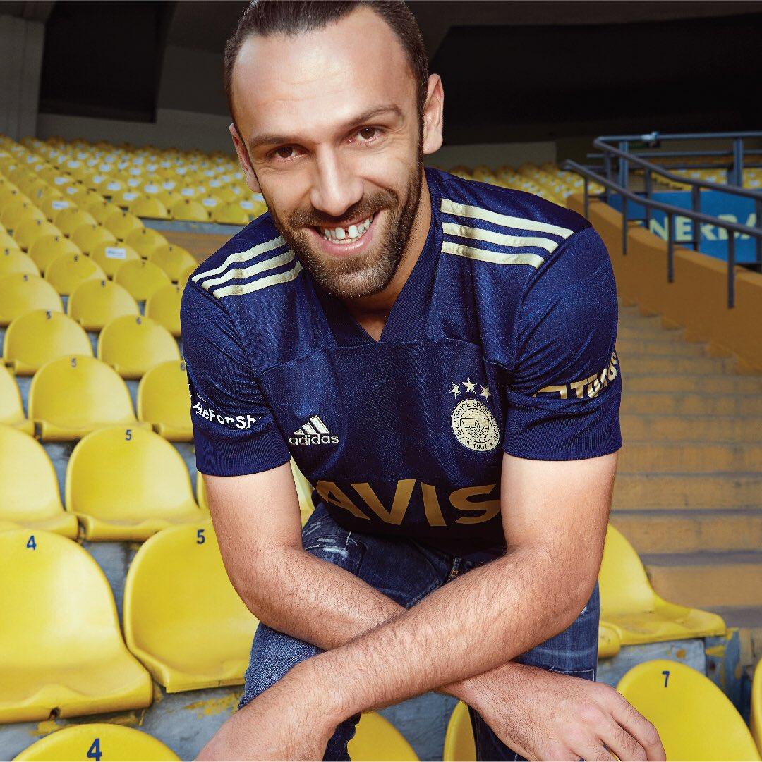 Camisas do Fenerbahce 2020-2021 Adidas Third