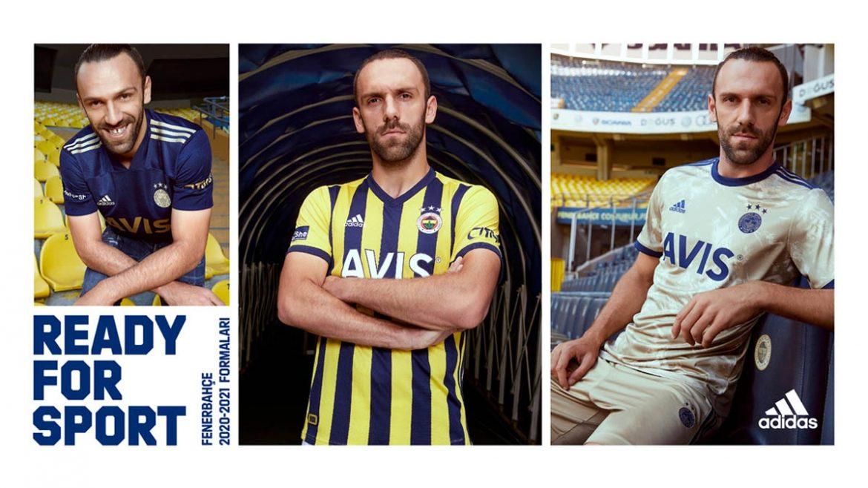 Camisas do Fenerbahce 2020-2021 Adidas a