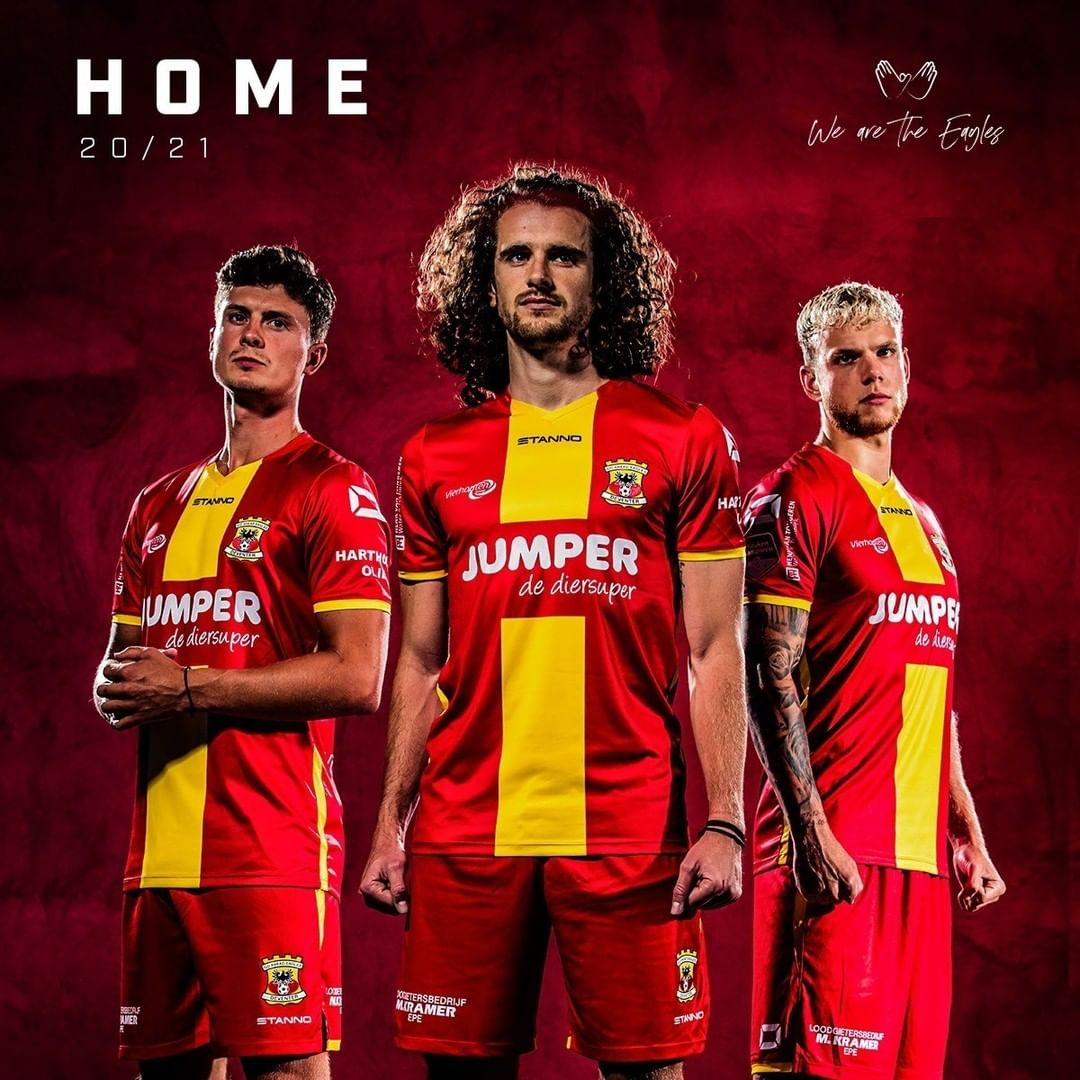 Camisas do Go Ahead Eagles 2020-2021 Stanno