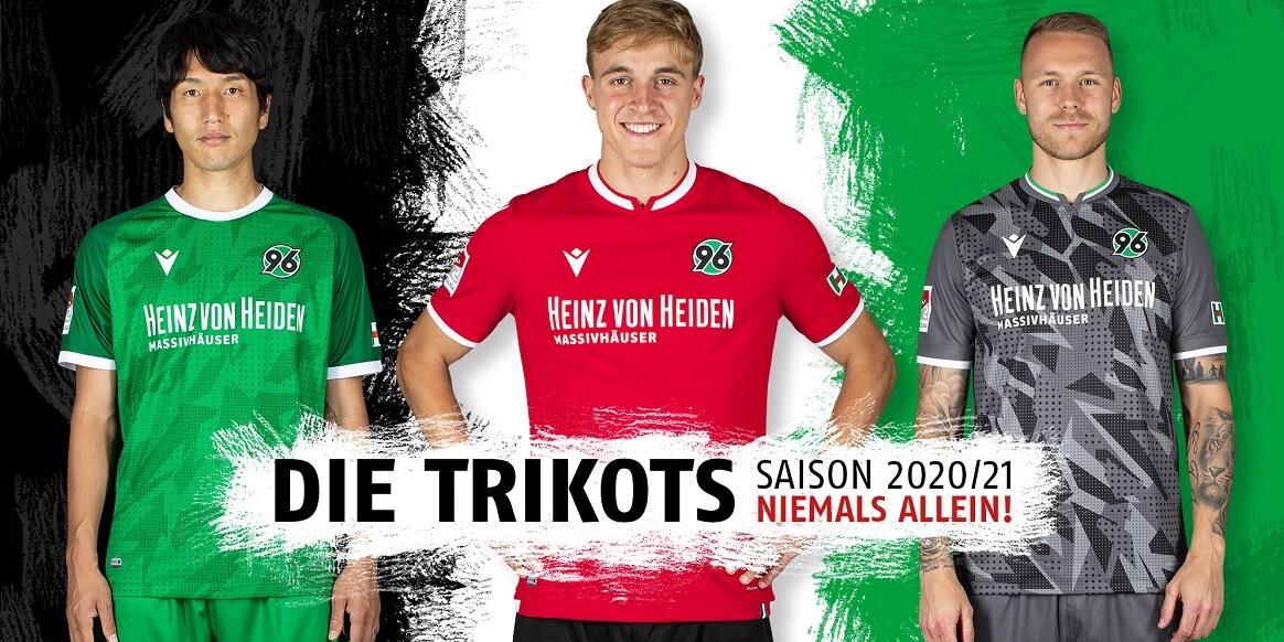 Camisas do Hannover 96 2020-2021 Macron