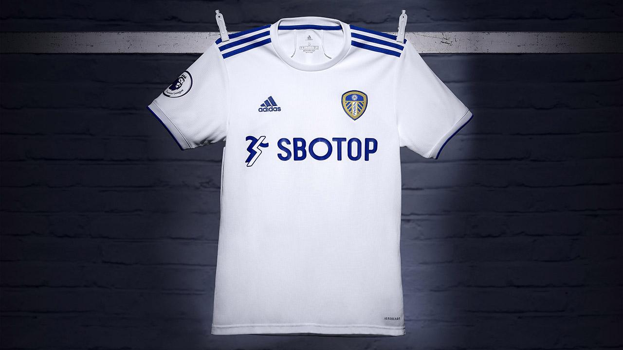 Camisas do Leeds United 2020-2021 Adidas