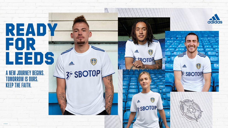 Camisas do Leeds United 2020-2021 Adidas a