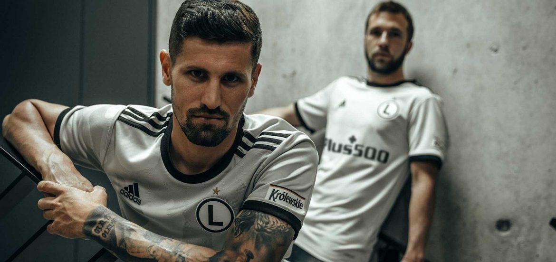 Camisas do Legia Varsóvia 2020-2021 Adidas