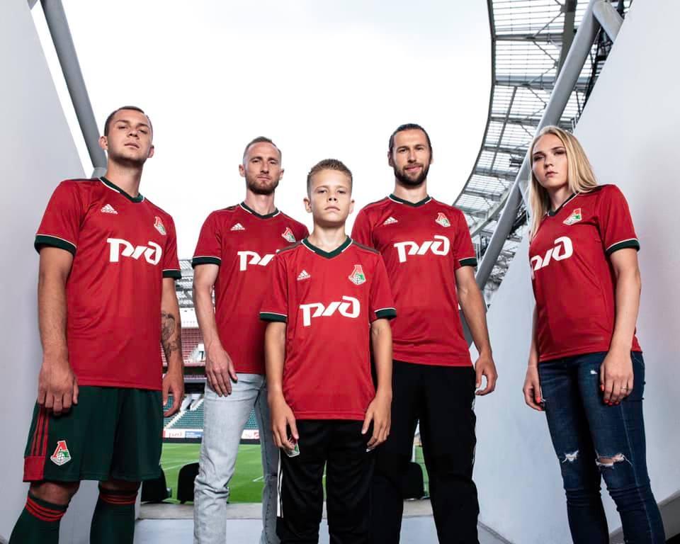 Camisas do Lokomotiv Moscou 2020-2021 Adidas