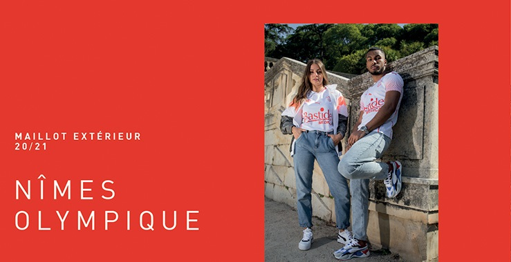 Camisas do Nimes Olympique 2020-2021 PUMA