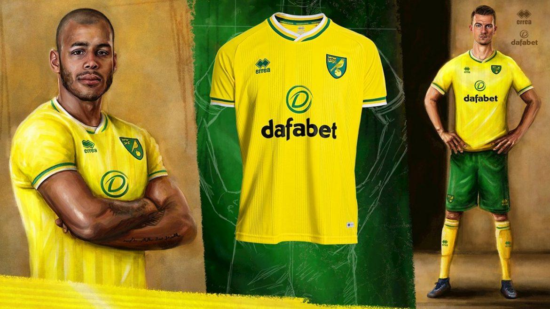 Camisas do Norwich City 2020-2021 Erreà