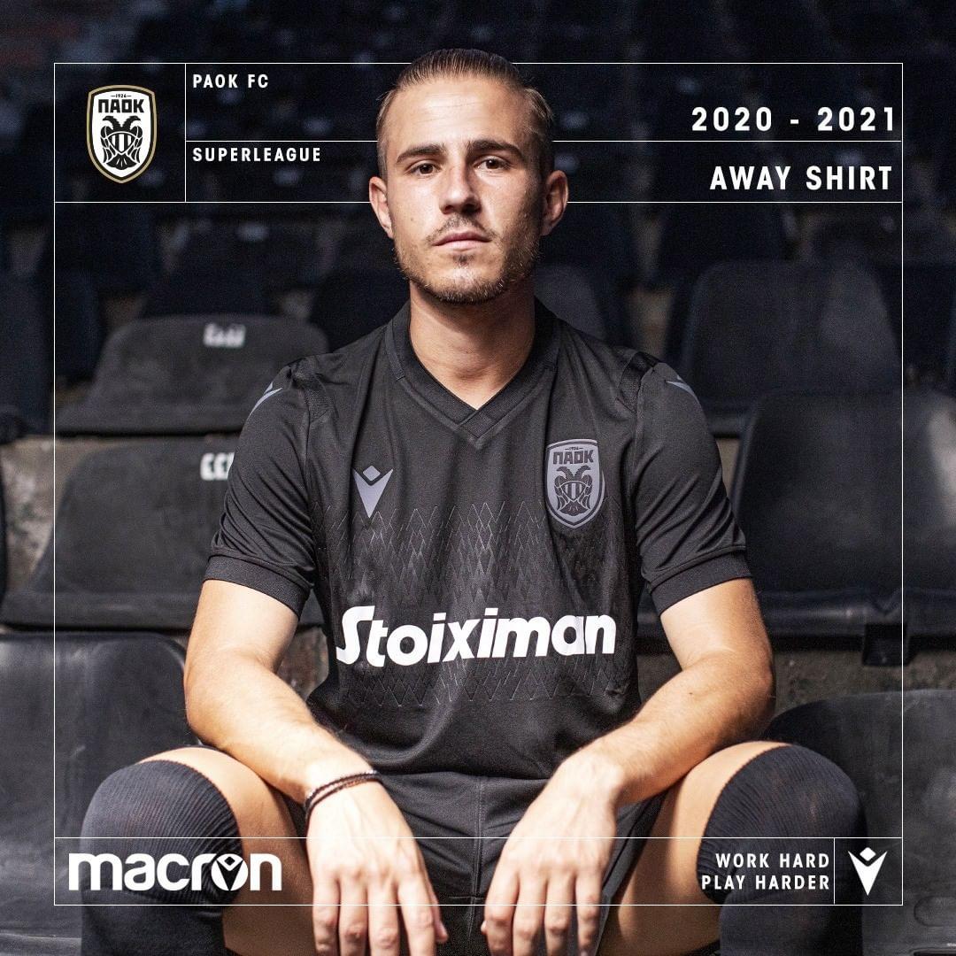 Camisas do PAOK 2020-2021 Macron