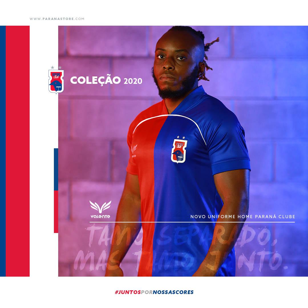 Camisas do Paraná Clube 2020-2021 Valente