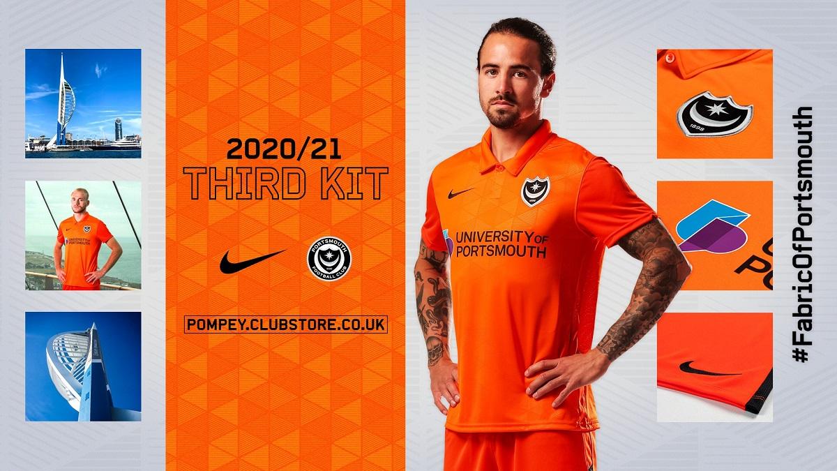 Camisas do Portsmouth 2020-2021 Nike