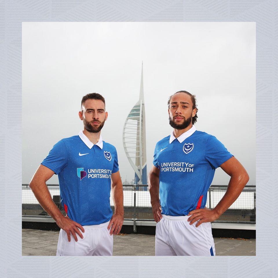 Camisas do Portsmouth FC 2020-2021 Nike